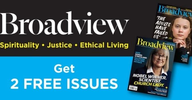 Broadview magazine image