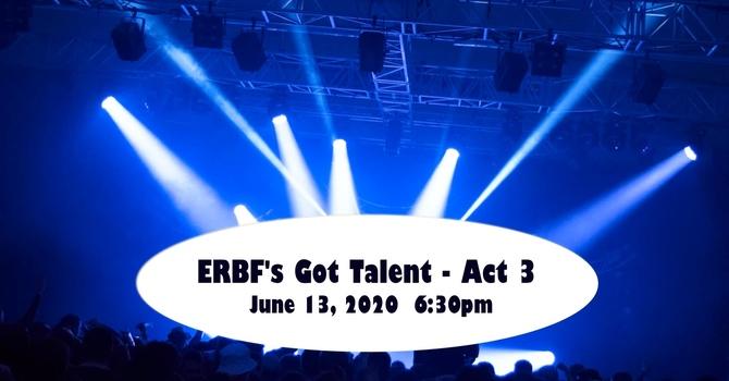 ERBF's Got Talent Act 3