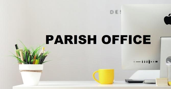 Church Office Closed January 22 image