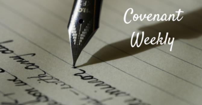 Covenant Weekly - May 9, 2017 image