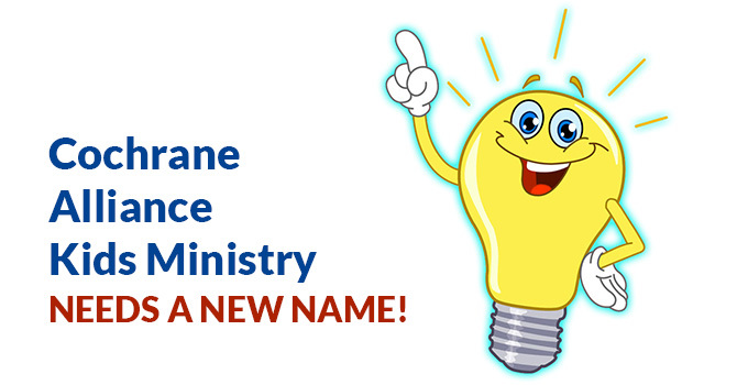 New Name for Kids Ministry! image