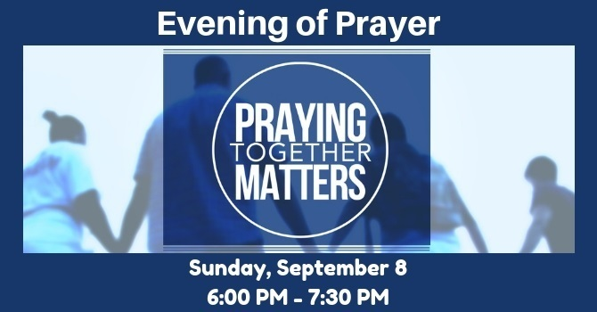 Evening of Prayer
