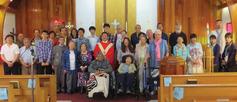 Holy cross group shot