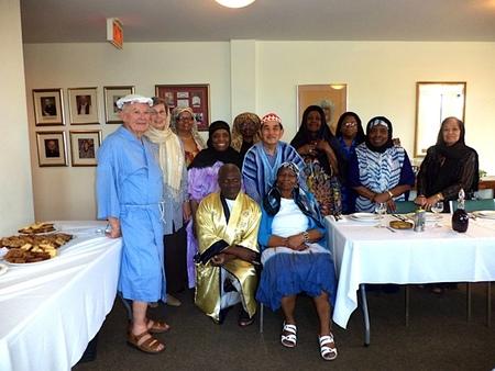 Bible Study Group closing celebration
