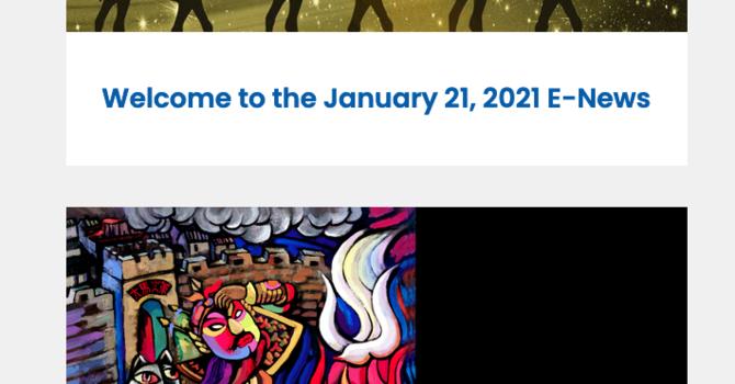 Link to the January 21 E-News image