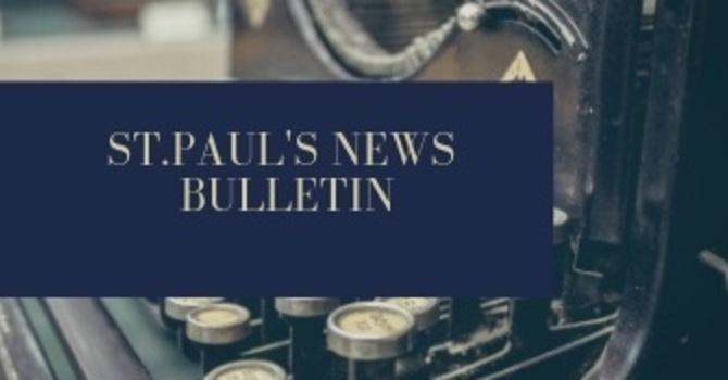 St. Paul's February 17th News Bulletin image