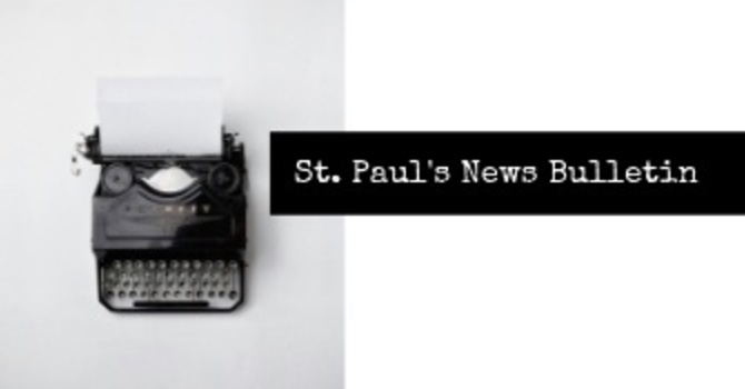 St. Paul's January 27th News Bulletin image
