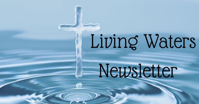 Living Waters Newsletter image