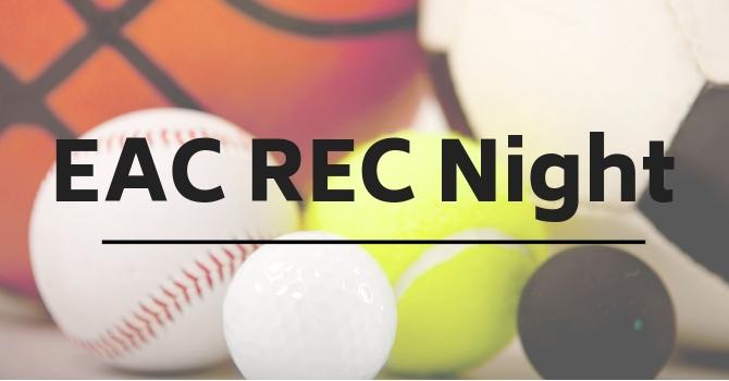Rec Sports Night