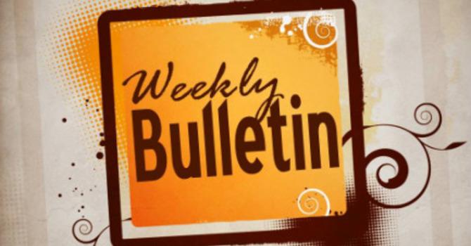 Good Friday Bulletin | April 14, 2017 image