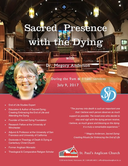Sacred Presence with the Dying