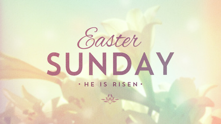 Easter Sunday - Seeing God in the World