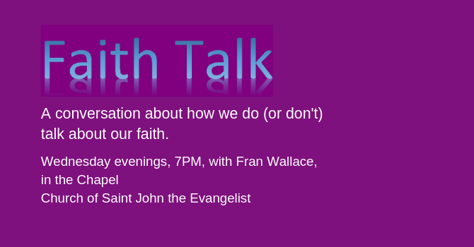 FAITH TALK Gathering