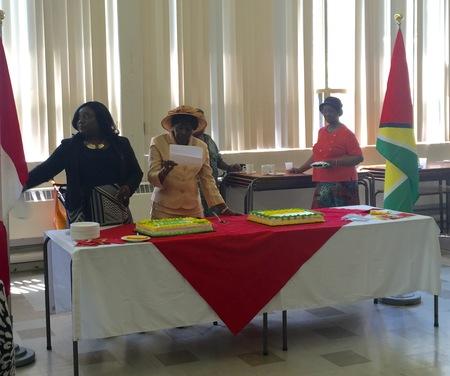 St. Andrew's celebrates Guyana's 50th Anniversary