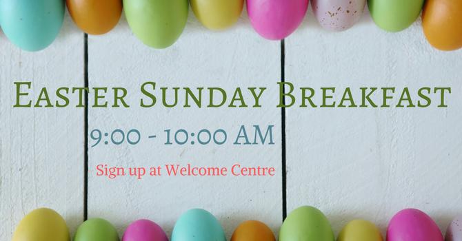 Easter Sunday Breakfast