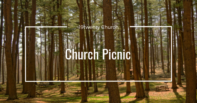 Father's Day Church Picnic