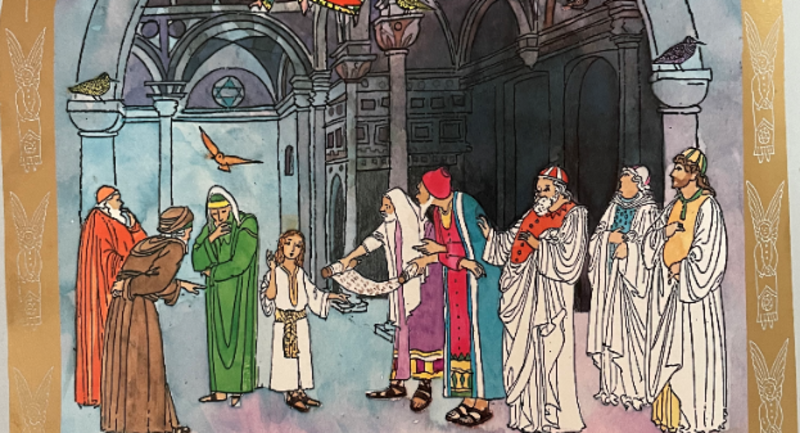 Godly Play Boy Jesus in the Temple