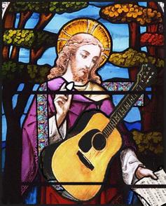 Guitar jesus