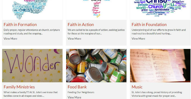 St John the Divine Victoria Launches New Website image