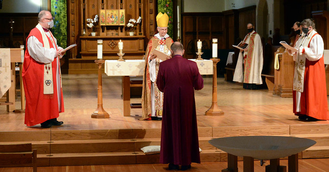 The Ordination of John Stephens on the Feast of the Conversion of St. Paul the Apostle