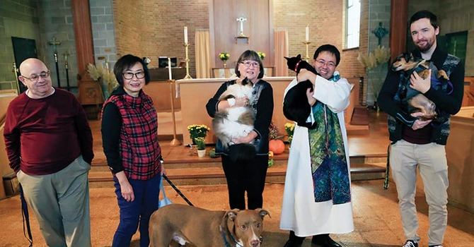 UPDATE Coverage of Pet Blessing at All Saints', Burnaby