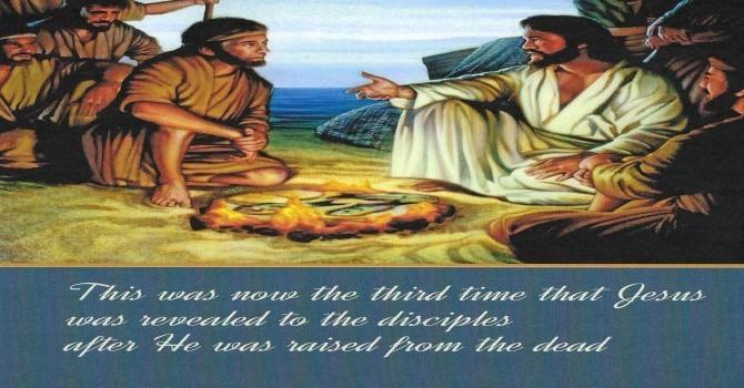 Worship Service Bulletin - Third Sunday of Easter image