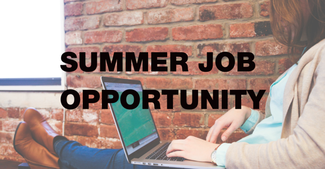 Summer Job Opportunity image