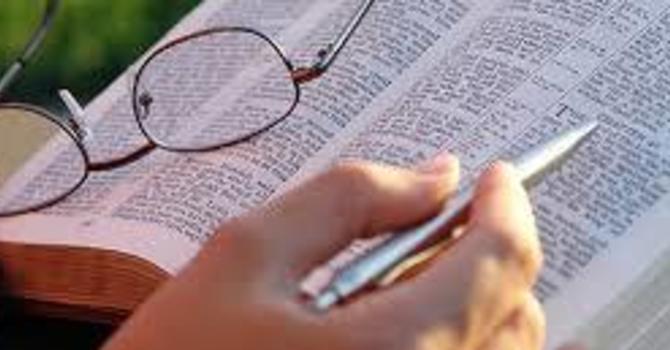 Summer Bible series