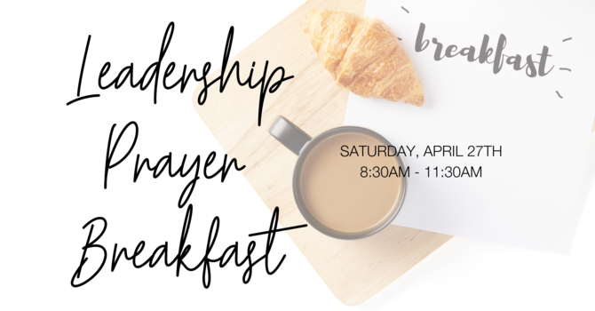 Pacific Leadership Prayer Breakfast