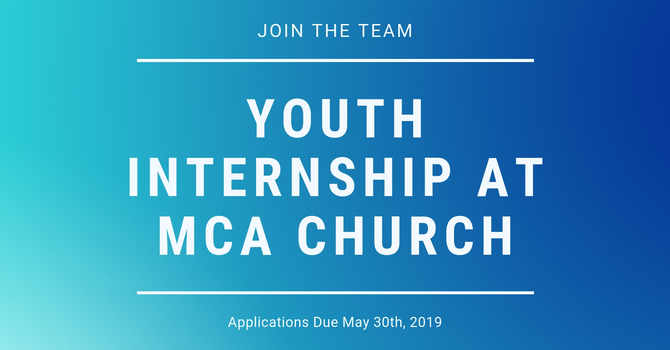 Join our Team - Youth Intern