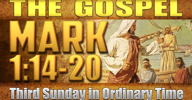 Gospel of Mark 1:14-20 image