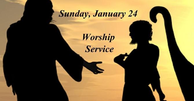 Sunday, January 24 Worship Service image