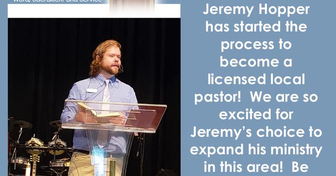 Congratulations Jeremy Hopper! image