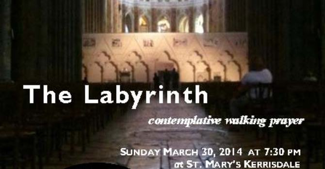 Lenten Labyrinth Event at St. Helen's, Point Grey image