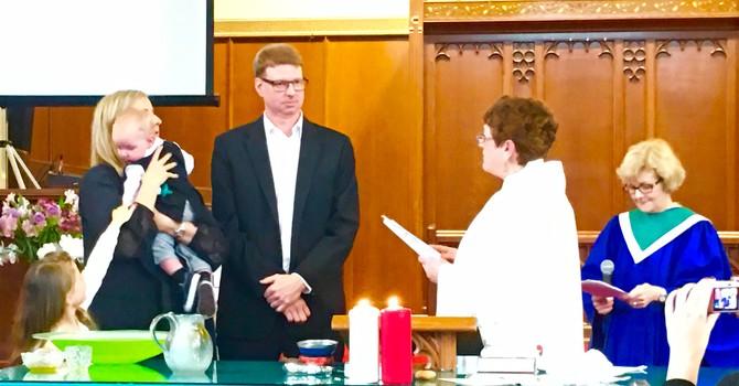 Baptism of Evan Lyster - Feb 19, 2017 image