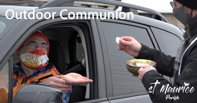 Outdoor Communion image