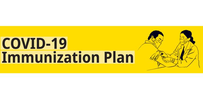 COVID-19 IMMUNIZATION PLAN image
