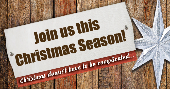 Join us this Christmas Season! image