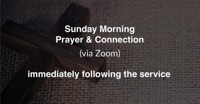 Sunday Morning Online Prayer