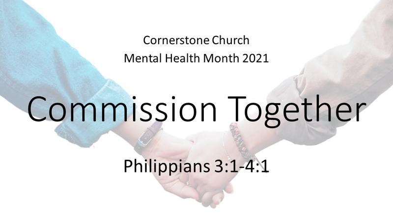 Mental Health Month: Commission Together