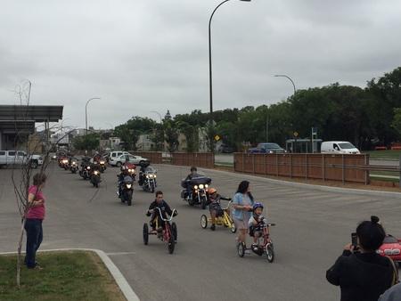 Children's Rehabilitation Foundation Ride August 26