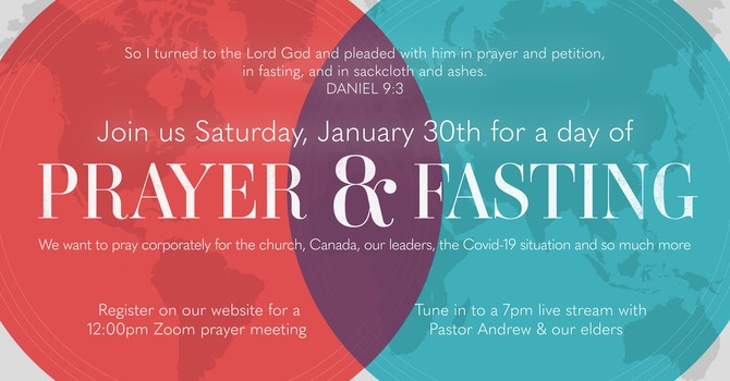 Prayer Guide - Day of Fasting and Prayer  image