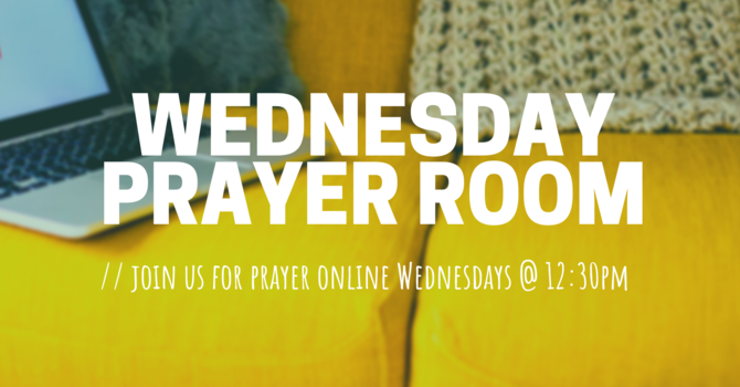 Come Pray with Us! image