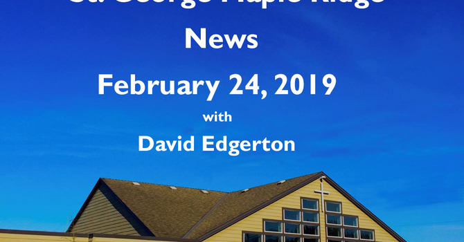 St.George Maple Ridge News Video, February 24, 2019 image