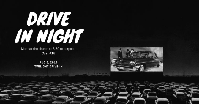 Young Adults Drive In Movie Night