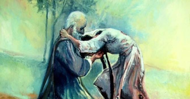 Fourth Sunday in Lent -Luke 15:1-3, 11b-32 -  Karen Hollis image