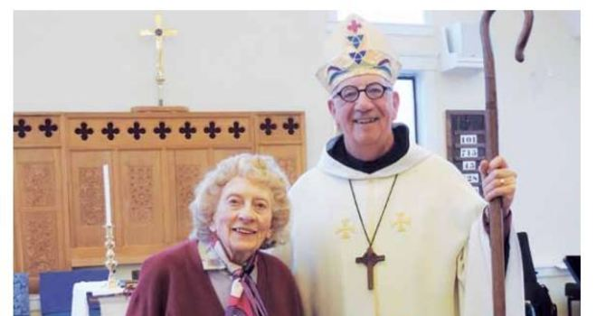 Former diocesan chancellor, Constance (Connie) Isherwood dies at age 101 image