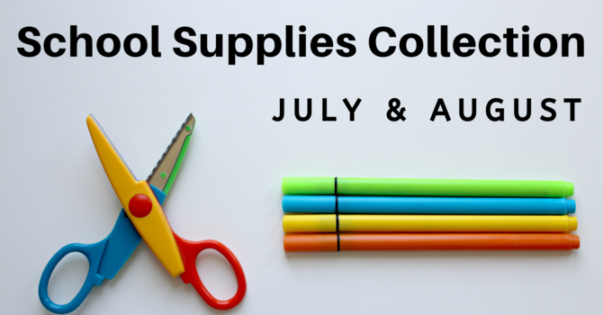 Outreach Event: School Supplies Collection