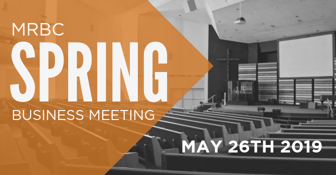 SPRING BUSINESS MEETING