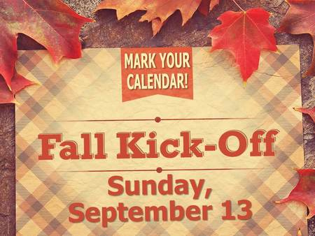 Kick Off Sunday